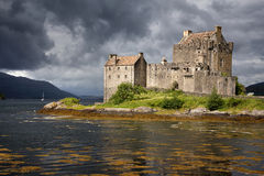 Castillo de Eilean Donan Imágenes de archivo libres de regalías