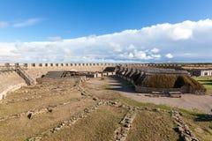 Castillo de Ekeotorp (borg de Eketorps) Imagen de archivo libre de regalías