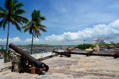 Castillo de Elmina Fotografía de archivo libre de regalías