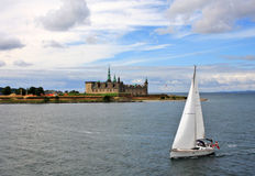 Castillo de Elsinore, Dinamarca Fotos de archivo libres de regalías
