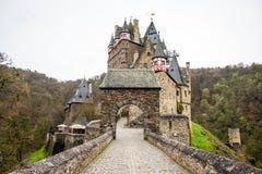 Castillo de Eltz - castillo medieval en Alemania Fotos de archivo