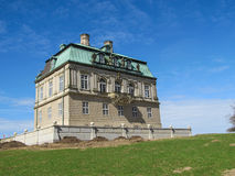 Castillo de Eremitage fotos de archivo libres de regalías