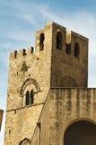 Castillo de Erice Imagen de archivo libre de regalías