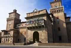 Castillo de Estense imagen de archivo libre de regalías