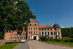 Castillo de Eutin en Alemania foto de archivo
