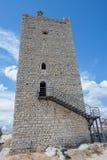Castillo de Fava Posada (Cerdeña - Italia) fotografía de archivo