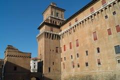 Castillo de Ferrara Fotografía de archivo libre de regalías