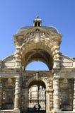 Castillo de Fontainebleau Fotos de archivo libres de regalías