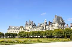 Castillo de Fontainebleau imagen de archivo libre de regalías