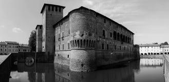 Castillo de Fontanellato foto de archivo