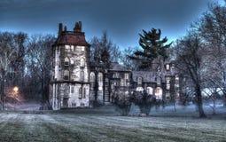 Castillo de Fonthill en Doylestown, PA EE.UU. fotografía de archivo