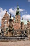 Castillo de Frederiksborg Imagen de archivo libre de regalías