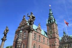 Castillo de Frederiksborg, Dinamarca Fotografía de archivo