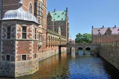 Castillo de Frederiksborg, Dinamarca Imagen de archivo libre de regalías