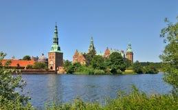 Castillo de Frederiksborg, Dinamarca Fotos de archivo
