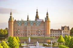 Castillo de Frederiksborg, Hilleroed, Dinamarca fotos de archivo libres de regalías
