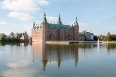 Castillo de Friederiksborg Imagen de archivo libre de regalías