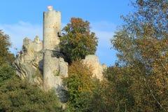 Castillo de Frydstejn Imágenes de archivo libres de regalías