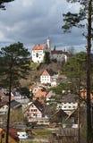 Castillo de Gössweinstein Foto de archivo libre de regalías