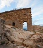 Castillo de Gagliano Castelferrato Fotos de archivo libres de regalías