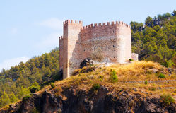 Castillo de Gaibiel in  summer Stock Photography