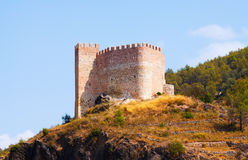 Castillo de Gaibiel w letnim dniu Obraz Stock