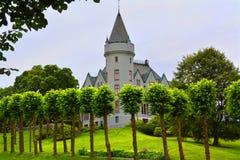 Castillo de Gamlehaugen imagenes de archivo