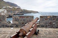 castillo de garachico米格尔・圣・西班牙tenerife 库存图片