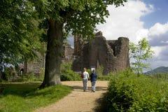 Castillo de Goodrich Imagenes de archivo