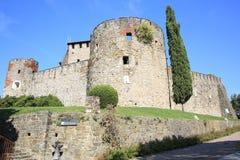 Castillo de Gorizia en Italia Foto de archivo libre de regalías