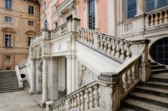 Castillo de Govone Italia Fotografía de archivo libre de regalías