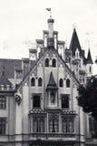 Castillo de Grafenegg en el distrito de Krems de una Austria más baja imagen de archivo