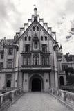 Castillo de Grafenegg en el distrito de Krems de una Austria más baja imagenes de archivo