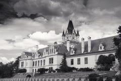 Castillo de Grafenegg en el distrito de Krems de una Austria más baja fotos de archivo