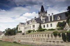 Castillo de Grafenegg en el distrito de Krems de una Austria más baja fotografía de archivo libre de regalías