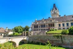 Castillo de Grafenegg cerca de Viena, una Austria más baja imagen de archivo libre de regalías