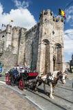 Castillo de Gravensteen, señor Fotografía de archivo libre de regalías