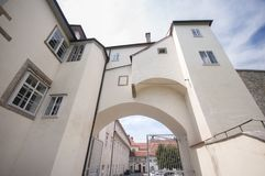 Castillo de Graz - Burg de Grazer, Graz, Austira, Europa, Junde 2017 Fotos de archivo libres de regalías