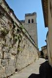 Castillo de Grignan fotografía de archivo