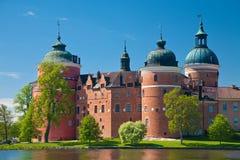 Castillo de Gripsholm Foto de archivo libre de regalías