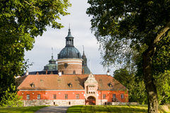 Fachada occidental del castillo de Gripsholm Imagenes de archivo