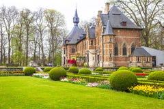Castillo de Groot-Bijgaarden imagen de archivo libre de regalías