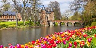 Castillo de Groot-Bijgaarden fotos de archivo libres de regalías