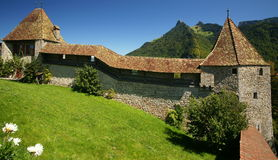 Castillo de Gruyeres Fotografía de archivo libre de regalías