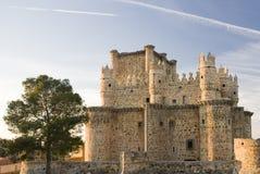 castillo de guadamur 免版税图库摄影