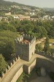 Castillo de Guimaraes Fotografía de archivo