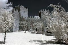 Castillo de Guimaraes fotografía de archivo libre de regalías