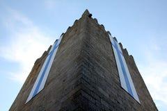 Castillo de Guimaraes en Portugal foto de archivo libre de regalías