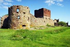 Castillo de Hamershus Imágenes de archivo libres de regalías