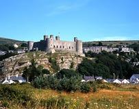 Castillo de Harlech Imagen de archivo libre de regalías